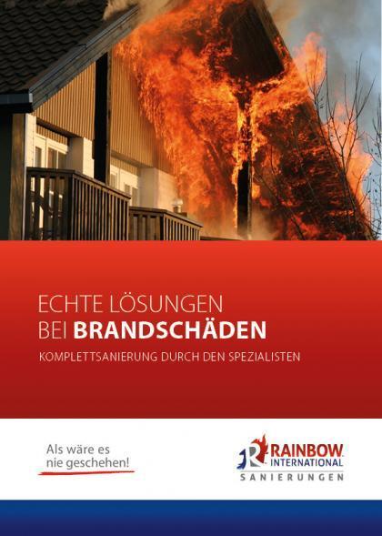Brandschaden Broschüre
